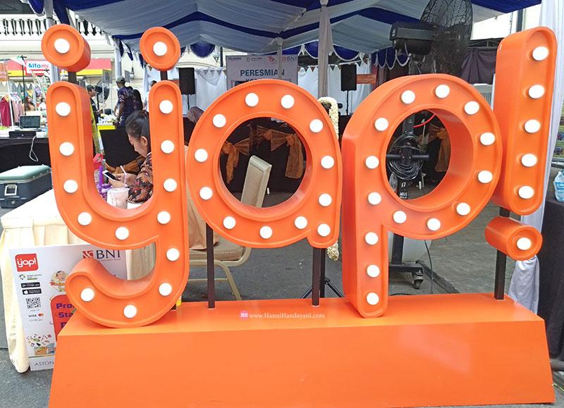 Pake Yap! Bikin Mudah Belanja di BNI Weekend Bazaar