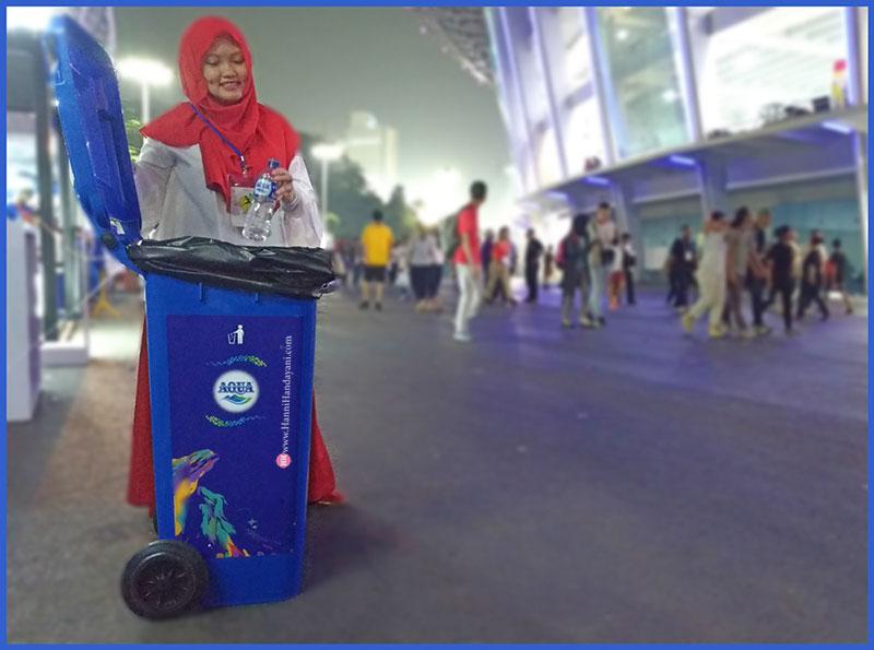 #KONTINGENKEBAIKAN Sebar Kebaikan di Asian Games 2018