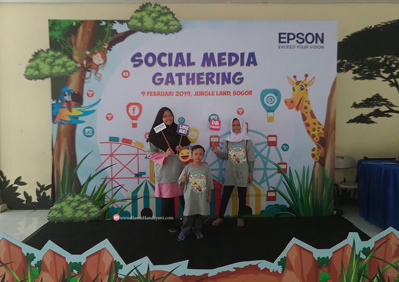 Social Media Gathering Epson 2019 : Seru & Asyik Banget !