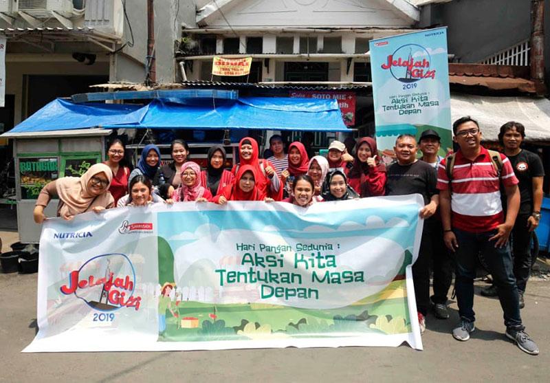 Jelazah Gizi Bogor 2019 Day 1 : Aksi Kita Tentukan Masa Depan